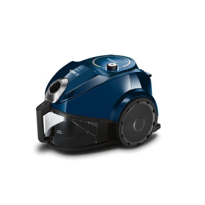 BOSCH GS30 Aspirateur sans sac Relyy'y – 800W – 80 dB – A – Bleu