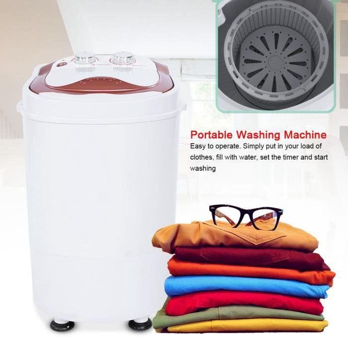 ALA Mini machine à laver - Mini Lave Linge Machine à Laver Automatique - Economie d'eau et d'Energie