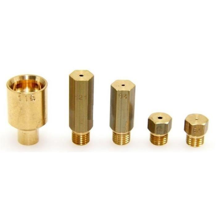 KIT D INJECTEURS GAZ NATUREL DE DIETRICH 385247 - * -72X4437 DCG750W - DCG750W1 - DCG750X - DCG750 - BVMPièces