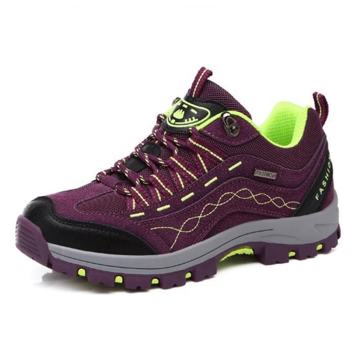 Chaussures randonnée Femme Chaussures d'alpinisme