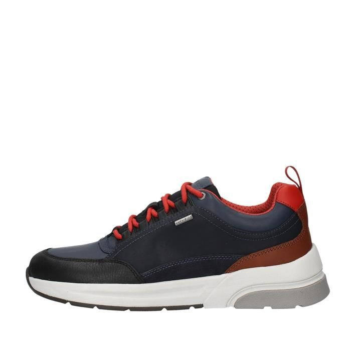 Geox U947WA046K4 chaussures de tennis faible homme NOIR