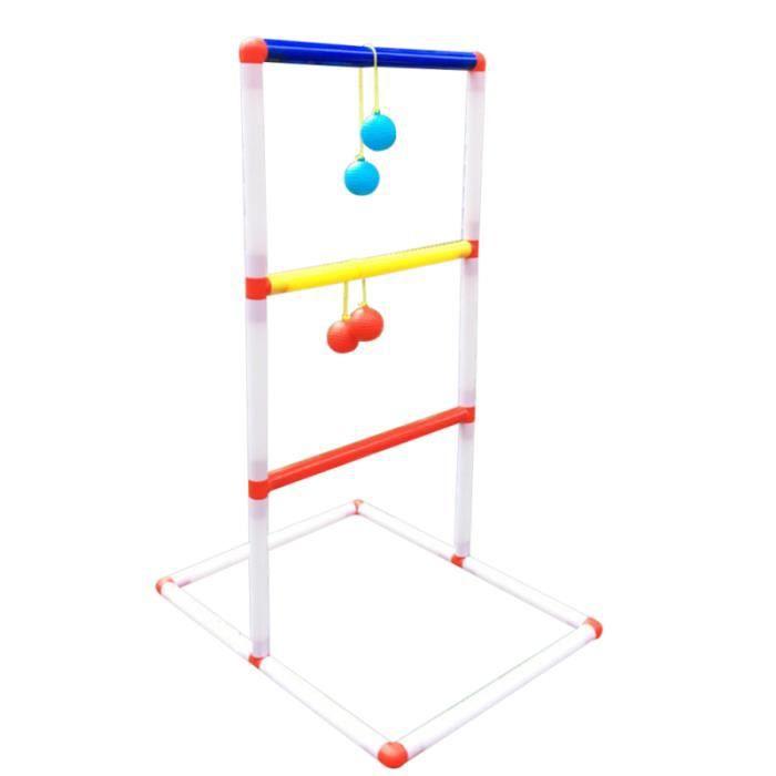 1 jeu d'échelle simple de lancer de balle de de cadre de kit de pour intérieur extérieur enfants BALLON DE FOOTBALL