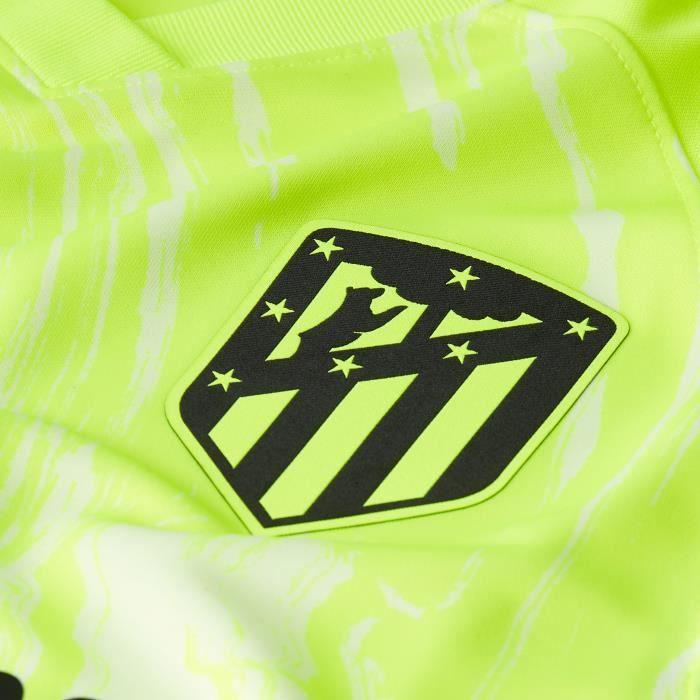 Maillot third Atlético Madrid 2020/21 - jaune volt/noir - XS