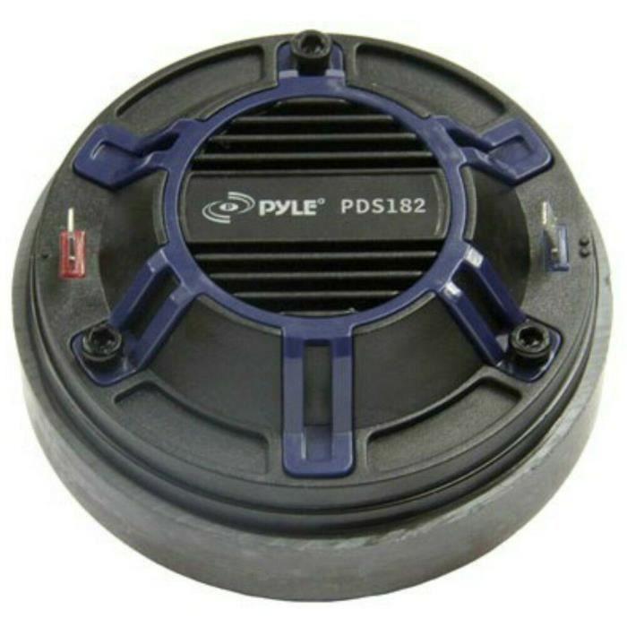 1 PYLE PDS182 tweeter à compression 120 watt rms 240 watt max 1- filetage 2,5 cm trompettes 8 ohm 103 db bobine 3,44 cm, 1 pièce