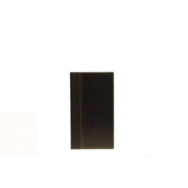 Porte-addition simili cuir - 23 x 13 cm