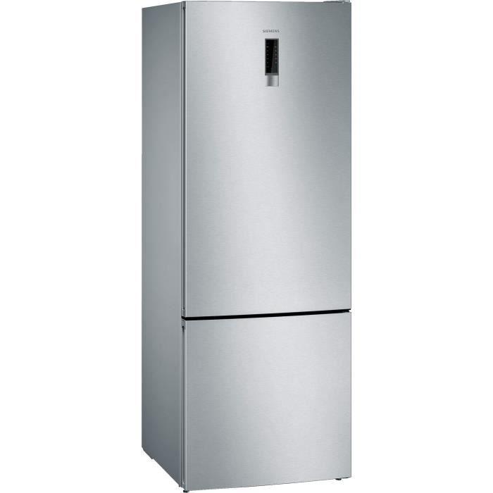 siemens - réfrigérateur combiné 70cm 505l a++ nofrost inox - kg56nxiea
