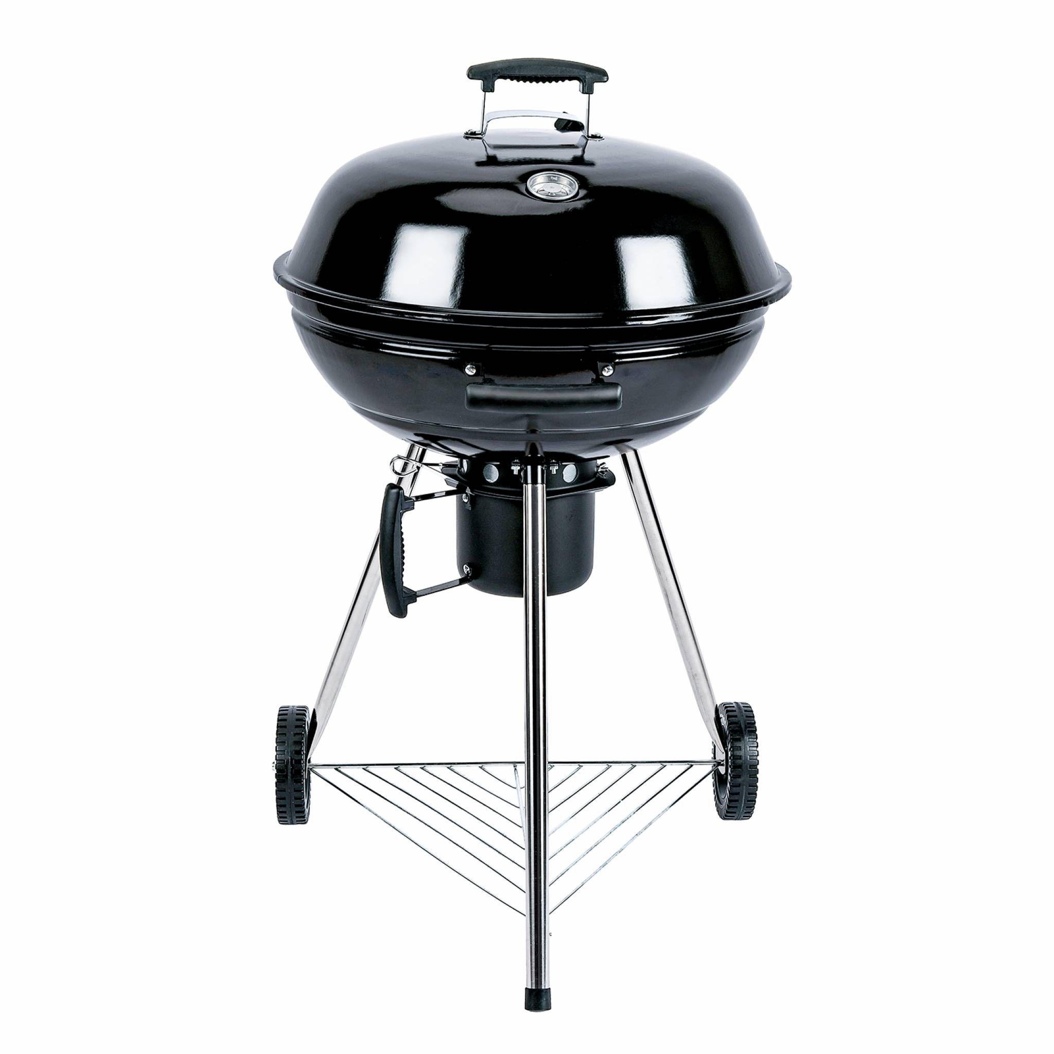 Photo de barbecue-charbon-de-bois-georges-o57cm-coloris-noir