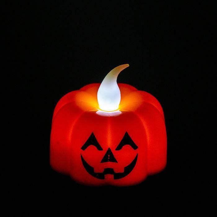 Lampe De Citrouille Lumineuse Activ/ée par La Voix D/écoration dhalloween BRAND NEWS Lampe De Citrouille dhalloween Jack-o-Lanterne Lumineuse Activ/ée par Le Son
