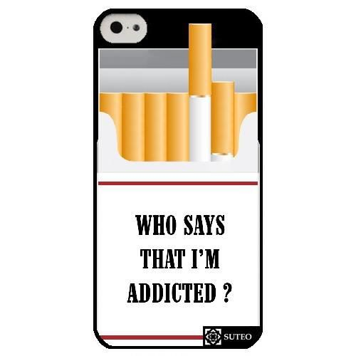 coque iphone 5c who says that i m addicted
