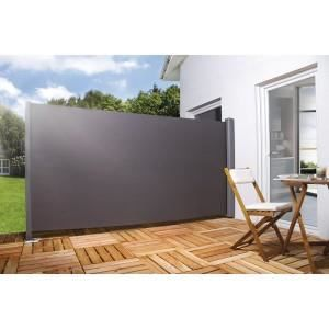 brise vue pour la terrasse h 200 x l 300 cm noir achat. Black Bedroom Furniture Sets. Home Design Ideas