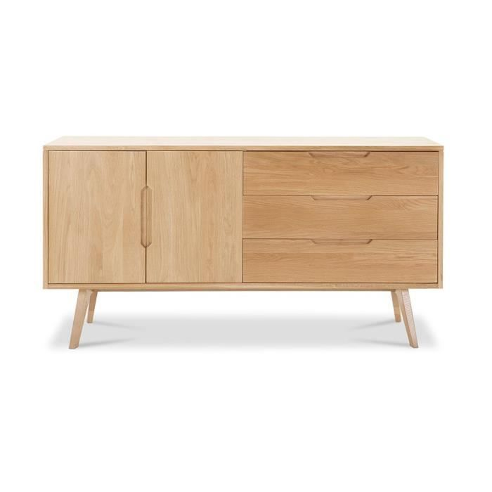 buffet rulph style scandinave bois achat vente. Black Bedroom Furniture Sets. Home Design Ideas