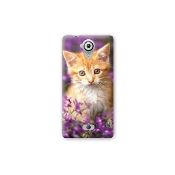 Coque Wiko U Feel Lite animaux 2 - - chat violet