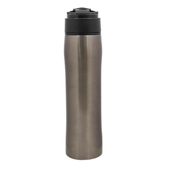 CAFETIÈRE LEEGOAL Cafetière portable en acier inoxydable 350