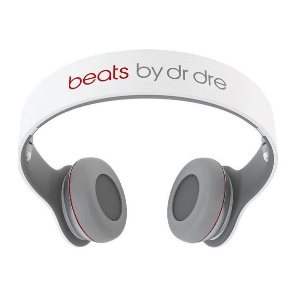 monster beats solo by dr dre blanc casque couteur prix pas cher cdiscount. Black Bedroom Furniture Sets. Home Design Ideas