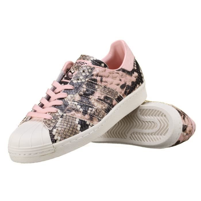 BASKET Basket Adidas Superstar 80s W S76419 Croco