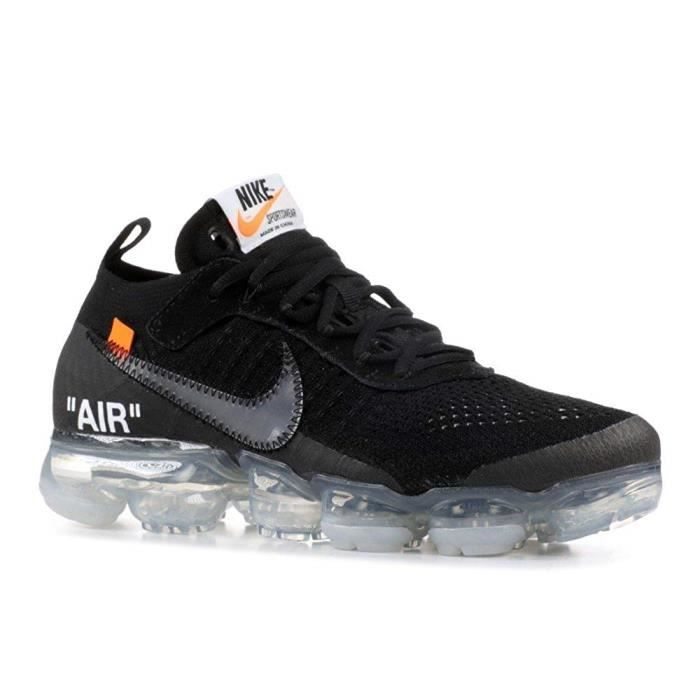 03f9dec03de8 Nike Air VaporMax FK 'OFF-WHITE' - AA3831-002 Noir Noir - Achat ...