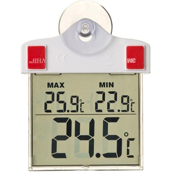 41 cm Métal Extérieur Thermomètre Jardin Extérieur Balcon Terrasse Thermomètre Analogique