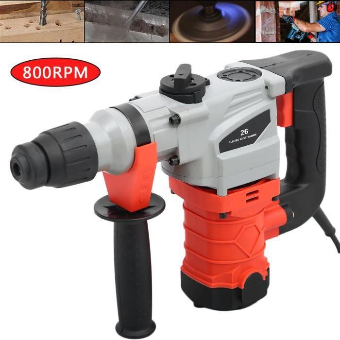 Burineur Perforateur 1280W Foret à percussion 26MM 230V
