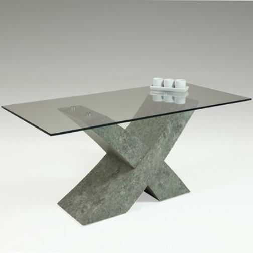 table basse beton avec plateau verre achat vente table basse table basse beton avec plat. Black Bedroom Furniture Sets. Home Design Ideas