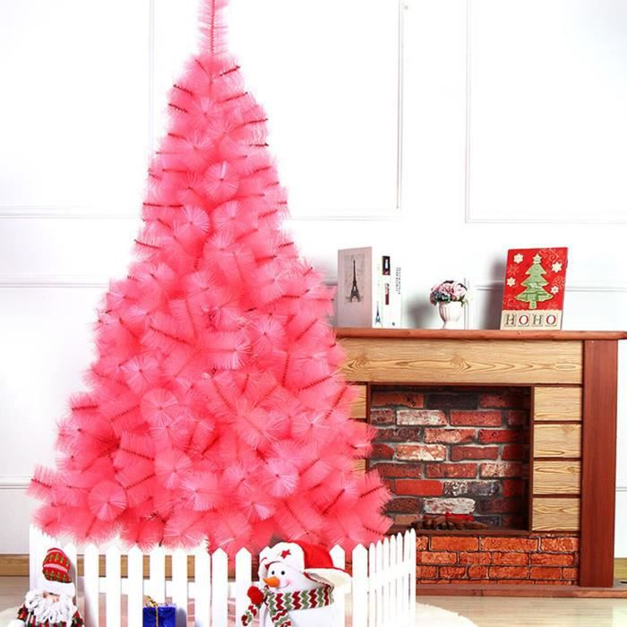 sapin de noel artificiel rose achat vente sapin de noel artificiel rose pas cher cdiscount. Black Bedroom Furniture Sets. Home Design Ideas