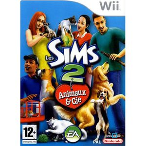 JEUX WII LES SIMS 2 ANIMAUX & CIE / JEU CONSOLE Wii