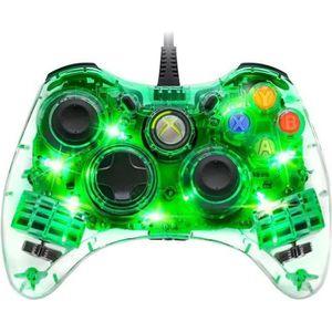 MANETTE JEUX VIDÉO Pad Filaire Afterglow PDP pour Xbox 360