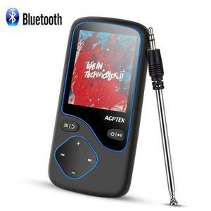 LECTEUR MP3 16Go MP3 Bluetooth 4.0 Radio avec Antenne Lecteur