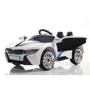 VOITURE ELECTRIQUE ENFANT ATAA CARS - Super 8 Sport batterie 12v - (Blanc)
