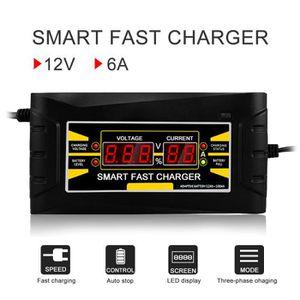 CHARGEUR DE BATTERIE Chargeur de Batterie pour Voiture 4 Ampères 6/12V,