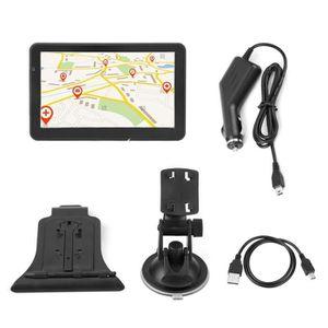 GPS AUTO LANQI Navigateur de voiture à écran tactile portab