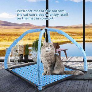 ARBRE À CHAT Tente de jeu pour chat avec souris et tapis moelle