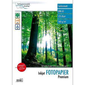 PAPIER PHOTO 125 feuilles papier photo mat A3 - 160 G