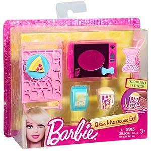 MAISON POUPÉE Mattel - Set micro-ondes et accessoires cuisine ma