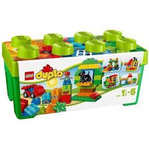 UNIVERS MINIATURE LEGO DUPLO 10572 GRANDE BOITE DU JARDIN EN FLEURS