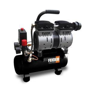 COMPRESSEUR FEIDER  Compresseur  sliencieux - 6 L - 500W - FC6