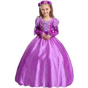 DÉGUISEMENT - PANOPLIE Princesse Raiponce Costume Robe de fête Robe 9-11a