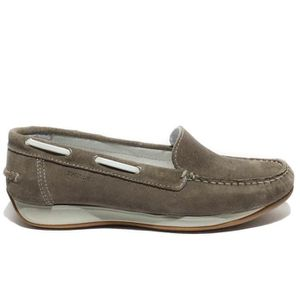 MOCASSIN Swissies mocassin soft technology femme cuir taupe