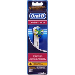 BROSSETTE Oral-B EB25-4 Floss Action 4 Pack Toothbrush Heads