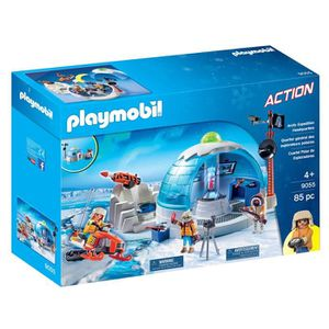 AFFICHE - POSTER Playmobil 9055 Arctic Expedition Headquarters 2TKV