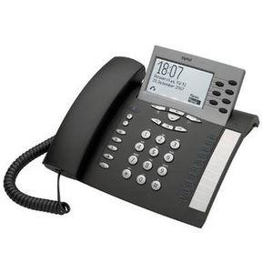 Téléphone fixe Tiptel 274, Téléphone DECT, 250 entrées, Argent
