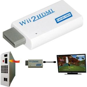 adaptateur hdmi wii prix pas cher cdiscount. Black Bedroom Furniture Sets. Home Design Ideas
