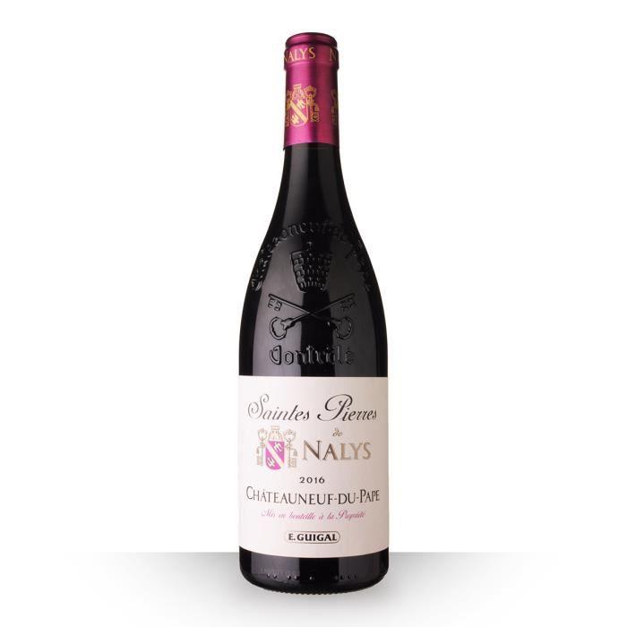 Saintes Pierres de Nalys 2016 AOC Châteauneuf-du-Pape - 75cl - Vin Rouge