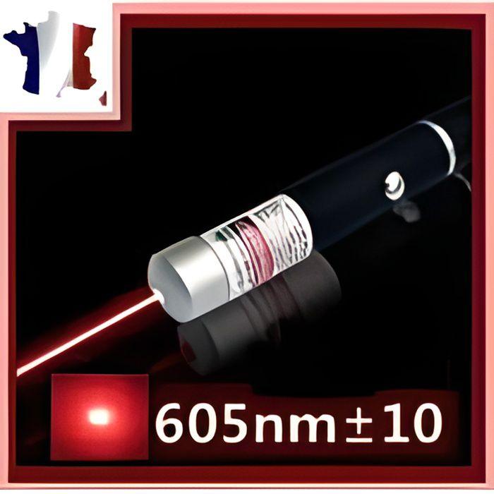Pointeur Laser rouge TACTIC Militaire