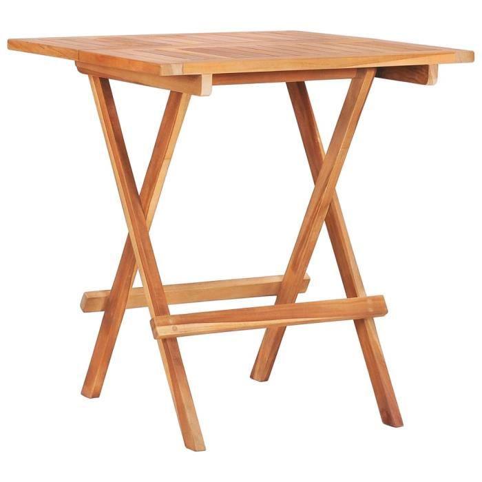 Mode -Table de bistro MANGE-DEBOUT Table d'extérieur - Table de jardin Design chic Table de reception Table de bar pliable ®RZXMWK®