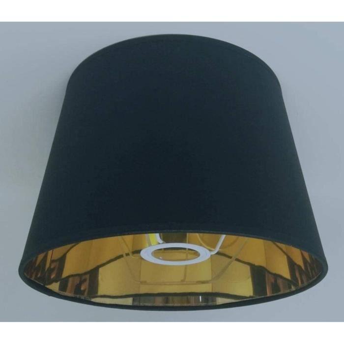 Abat-jour de 25,4 cm pour lampe de table, fait à la main, intérieur doré, style Empire