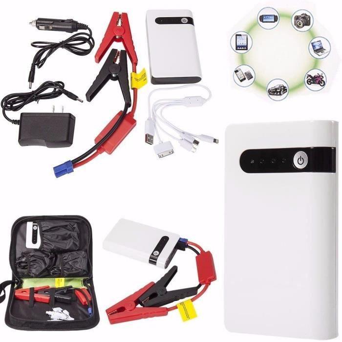 20000mah coffre de batterie d' urgence alimentation de secours de démarrage d' auto