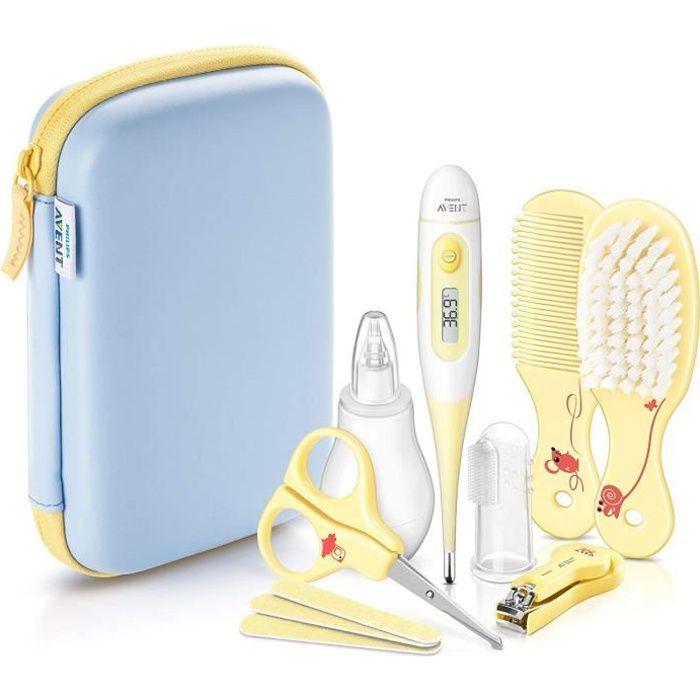 PHILIPS AVENT SCH400/00 Trousse de soin pour bébé - 8 Accessoires