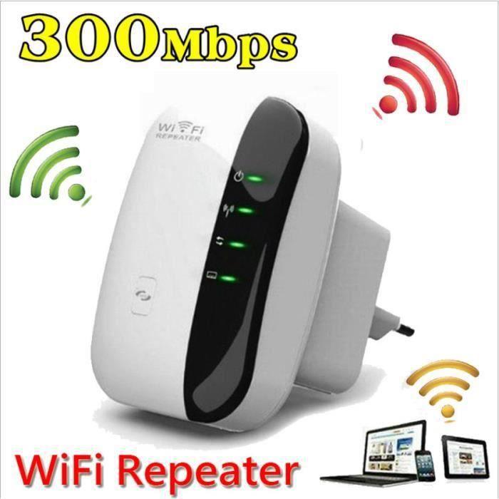 ss-33-Repeteur - Booster de signal sans fil WiFi extender 300M WLAN 802.11n-g-b