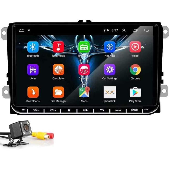 9 inch Autoradio Lecteur multimédia multimédia stéréo de Navigation GPS pour autoradio Android 8.1 WiFi Bluetooth pour V-W S-K[115]