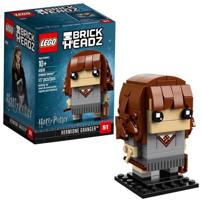Jeu D'Assemblage LEGO Brickheadz Hermione Granger Kit de construction, 127 pièces, multicolore PNN55